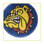 Bulldog Logo Patch