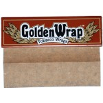 Golden Wrap Natural Blunt Papers - Single Pack