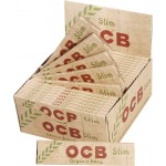 OCB King Size Organic Hemp Slim Rolling Papers - Box of 50 Packs
