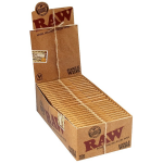 RAW Natural Single Wide Hemp Rolling Papers - Twin Pack - Box of 25 Packs