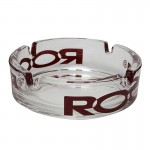 ROOR - Glass Ashtray With Color Logo