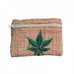 Square Hemp Wallet