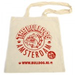 The Bulldog Amsterdam - Cotton Shoulder Bag - White