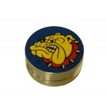 The Bulldog mini metal grinder